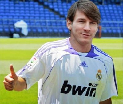 El Real Madrid ficha por 150M€ a Messi - News - Futbol