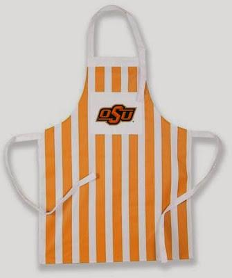 Oklahoma State Cowboys BBQ Apron