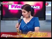 Face to Face Reality tabloid talk show aired on TV5 | ABC Development Corporation Barangay Hall On-Air
