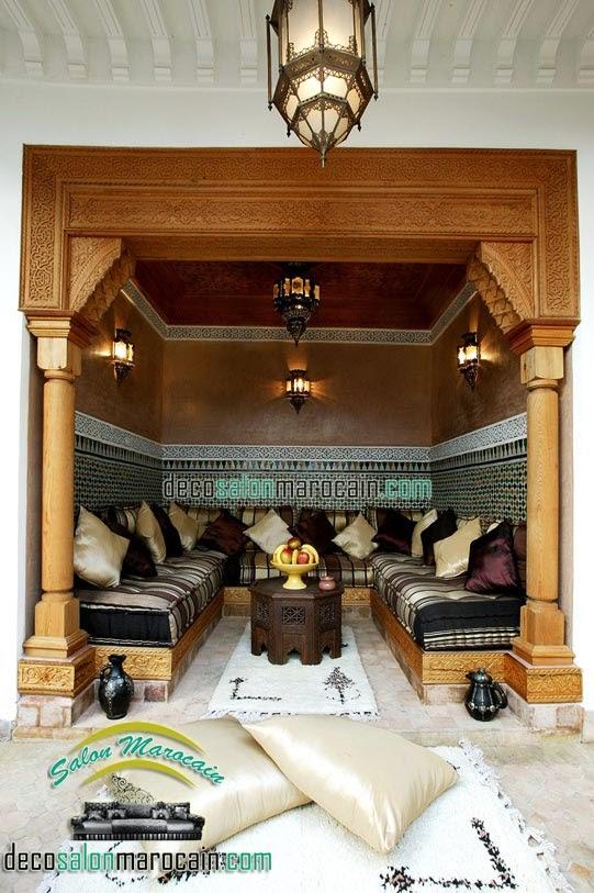 Salon marocain riad de luxe