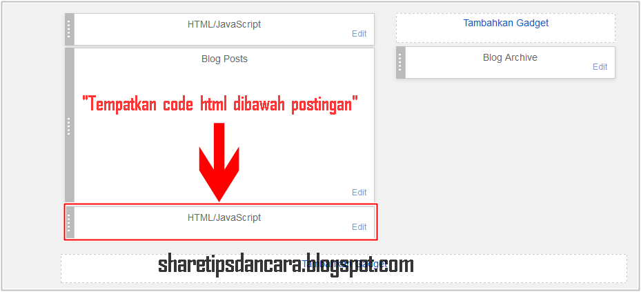 Cara Mudah Membuat Widget Floating Share Media sosial