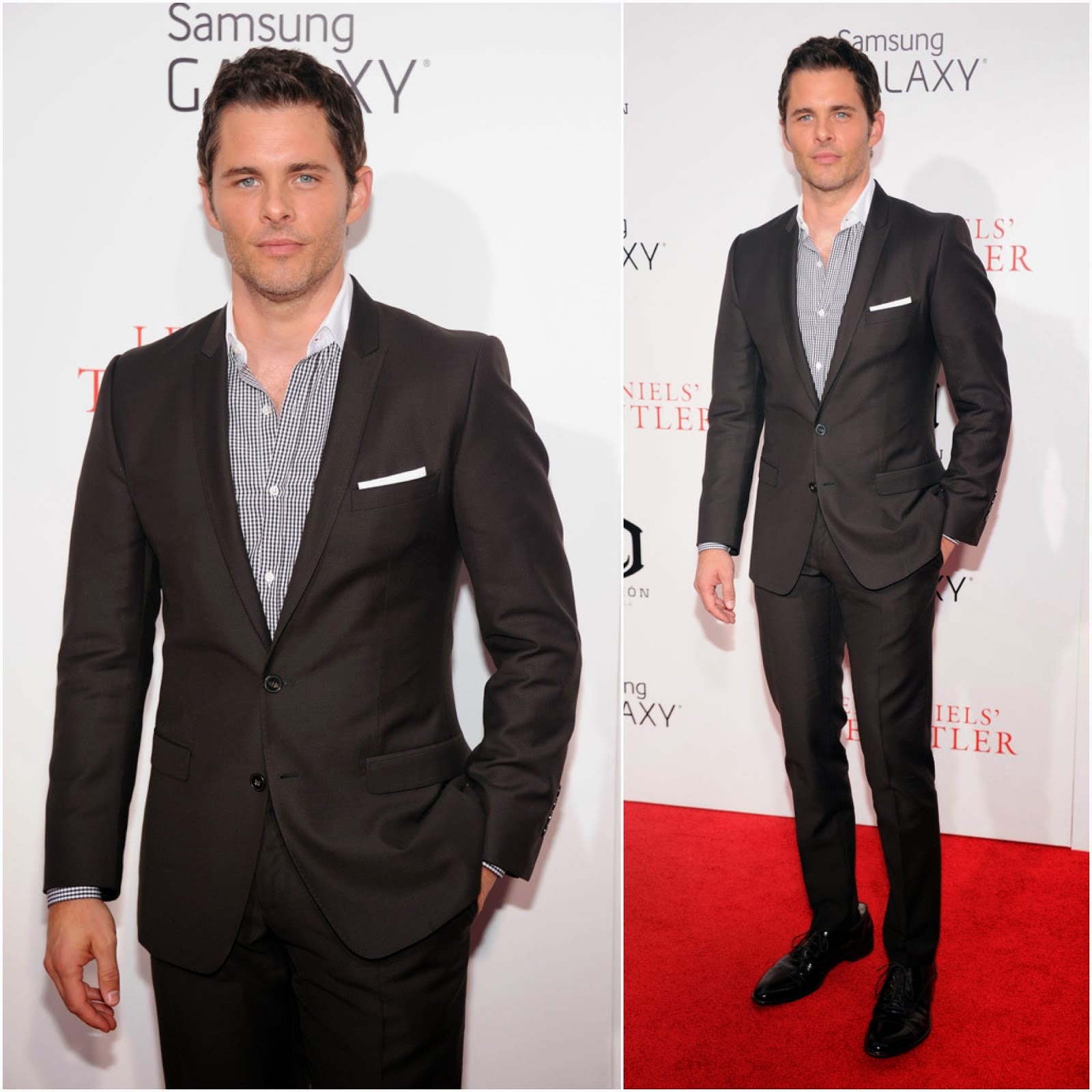 00O00 Menswear Blog: Actor James Marsden attends Lee Daniels' 'The Butler' New York Premiere, hosted by TWC, Samsung Galaxy and DeLeon Tequila on August 5, 2013 in New York City.