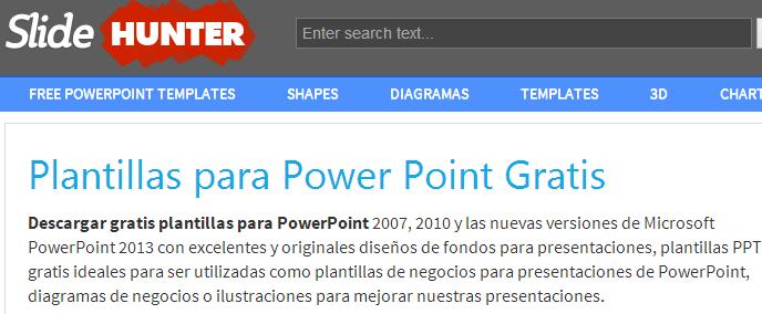 Descargar plantillas de Power Point profesionales gratis de ...