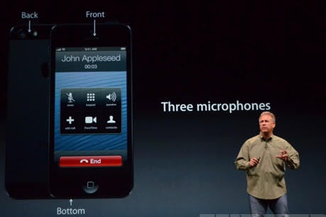 Iphone 5 microphones
