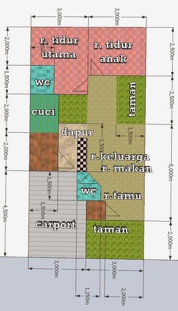 Desain Rumah Minimalis 12 X 15