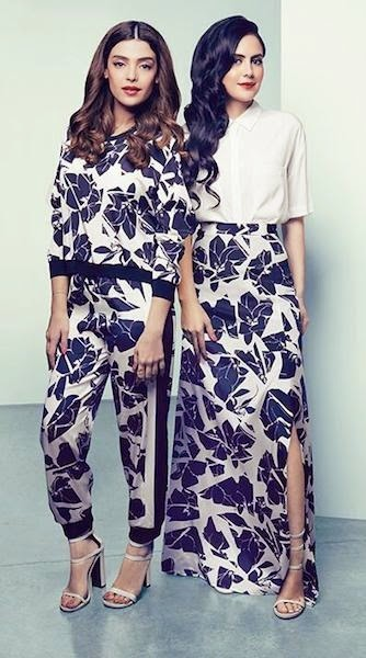 long sleeve maxi dresses and long sleeve jumpsuit from DKNY available to buy purchase for sale at Mode-sty