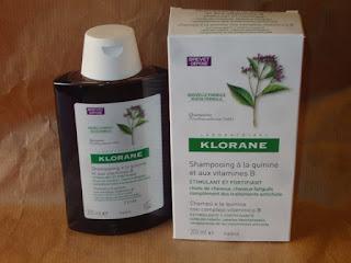 champu tratante y fortificante a la quinina de klorane