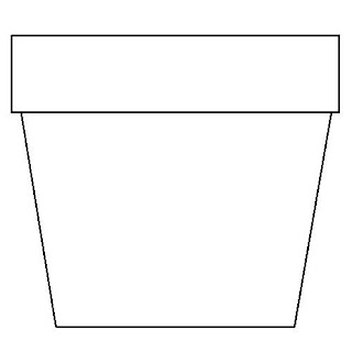 Flower Pot Coloring Page Flower Coloring Page Flower Pot Coloring Page