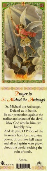 Prayer to St Michael the Archangel