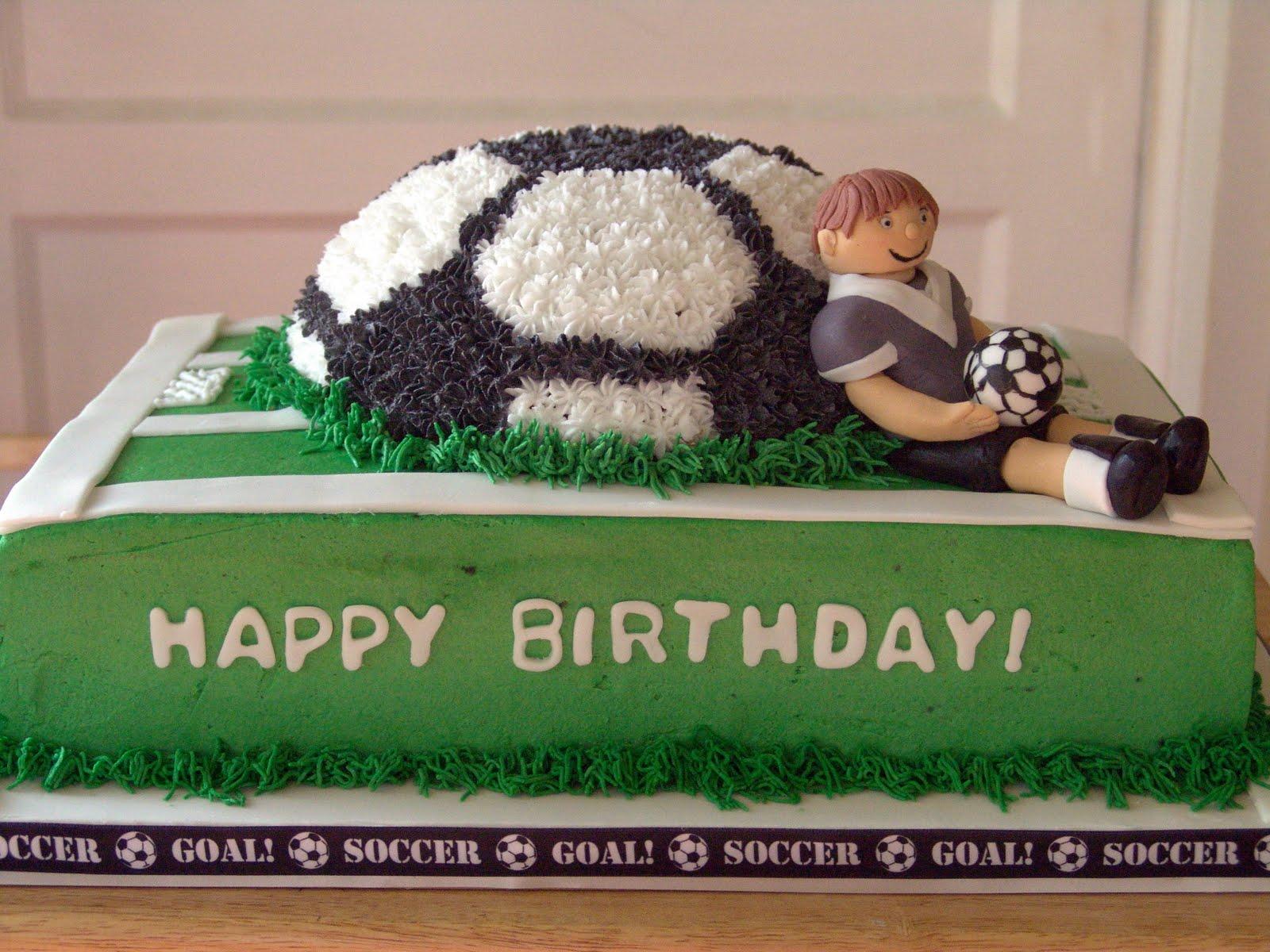 Deb s Sweet Spot: Soccer Birthday Cake