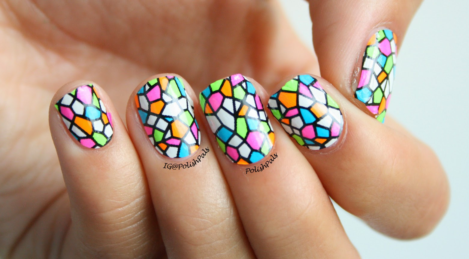 Enchanted Windows Nail Wraps by Scratch