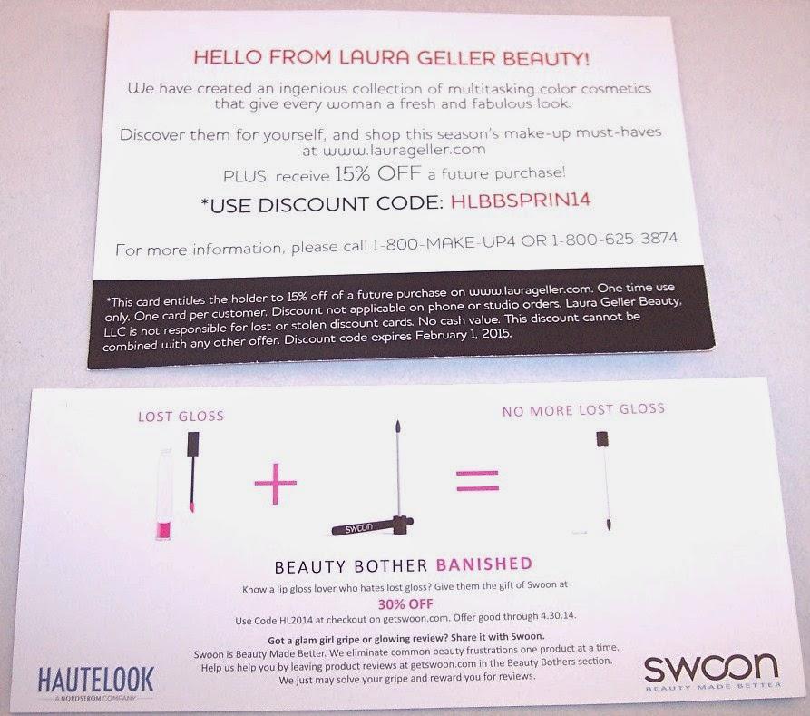 Lone Star Shopper: HauteLook Lip Beauty Bag Review Spring 2014 ...