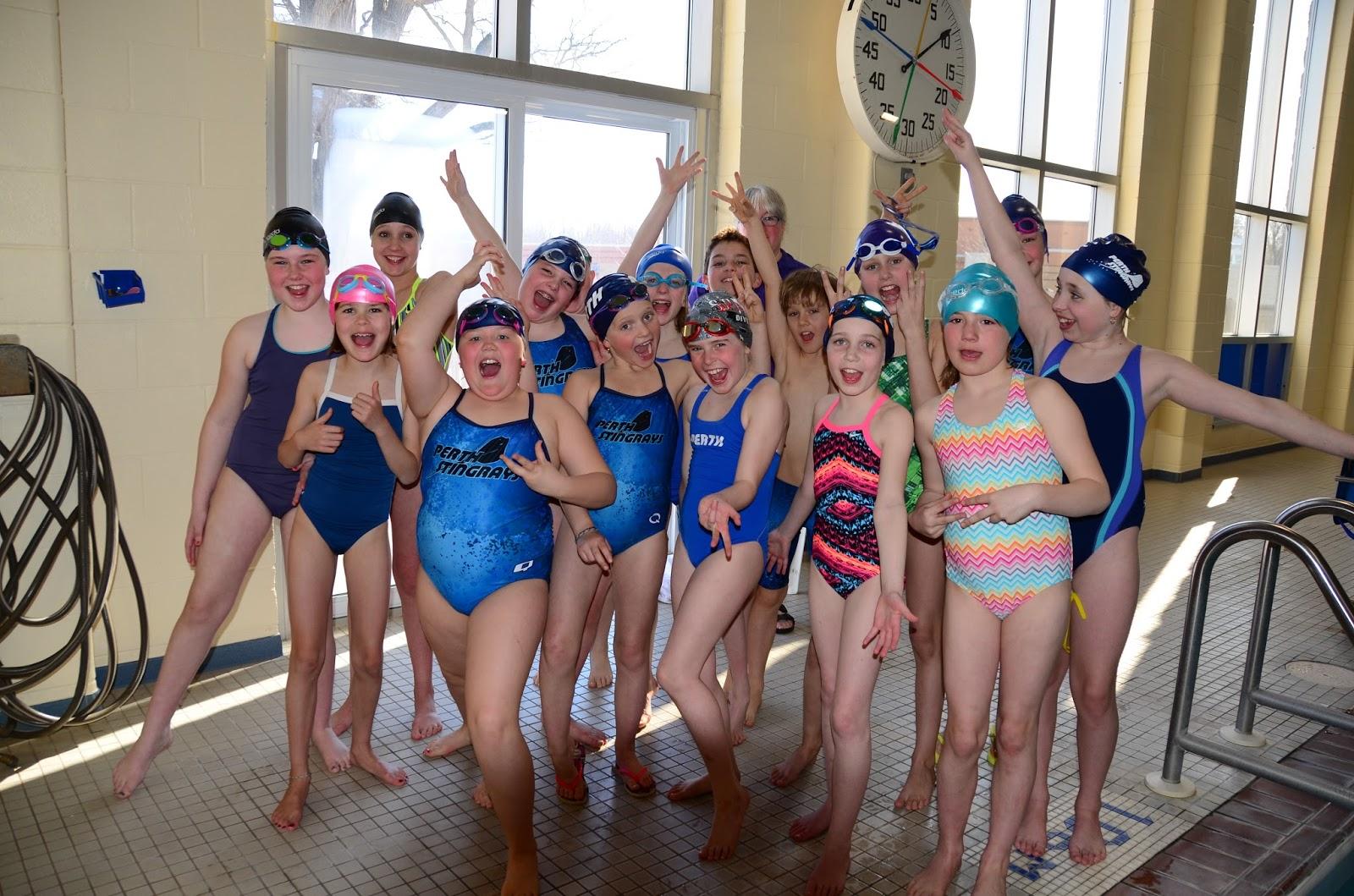 Perth stingrays aquatic club intro bronze mini meet success for Pool show perth 2015