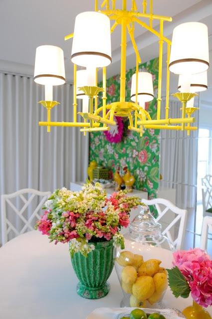 Maria Barros' dining room, via The Glam Pad