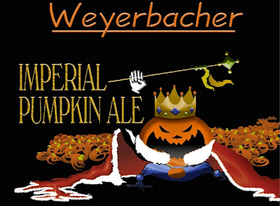 Old Weyerbacher Imperial Pumpkin label