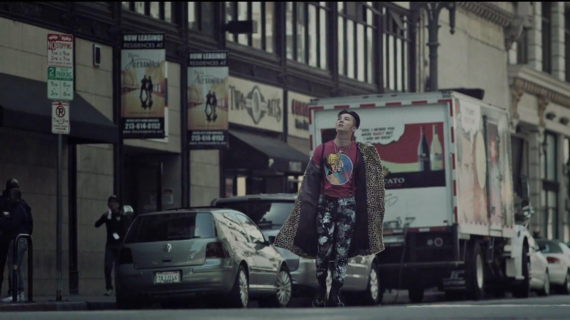 Bigbang's G-Dragon in Loser MV
