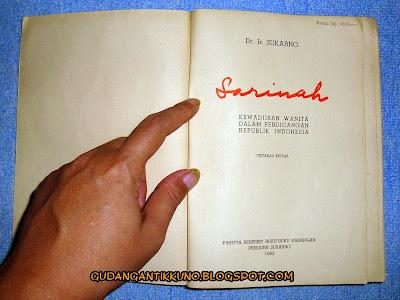Buku Sarinah Soekarno