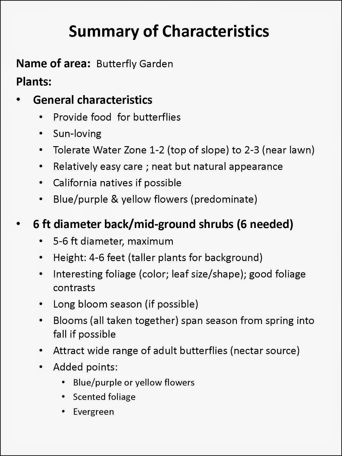 The 6 Foot Shrubs, Used As Shorter Background Plants, Will Supply Much Of  The Butterfly Nectar. With Some Slightly Smaller Mid Ground Shrubs, ...