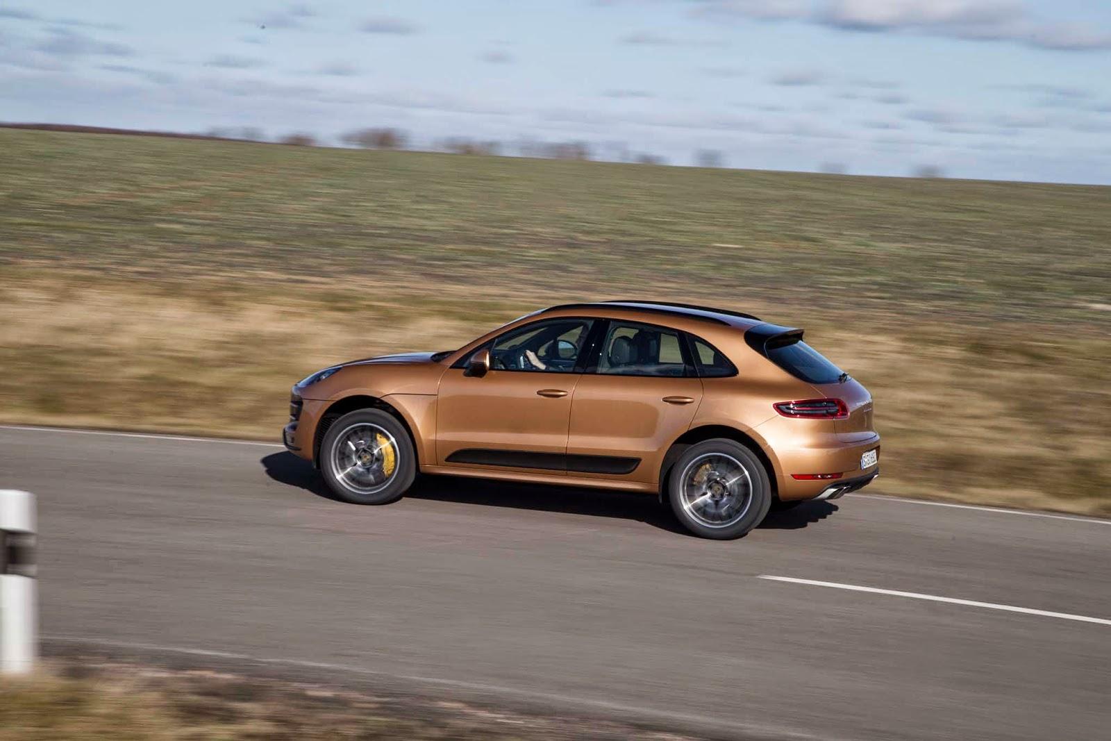 Porsche Macan Turbo Image