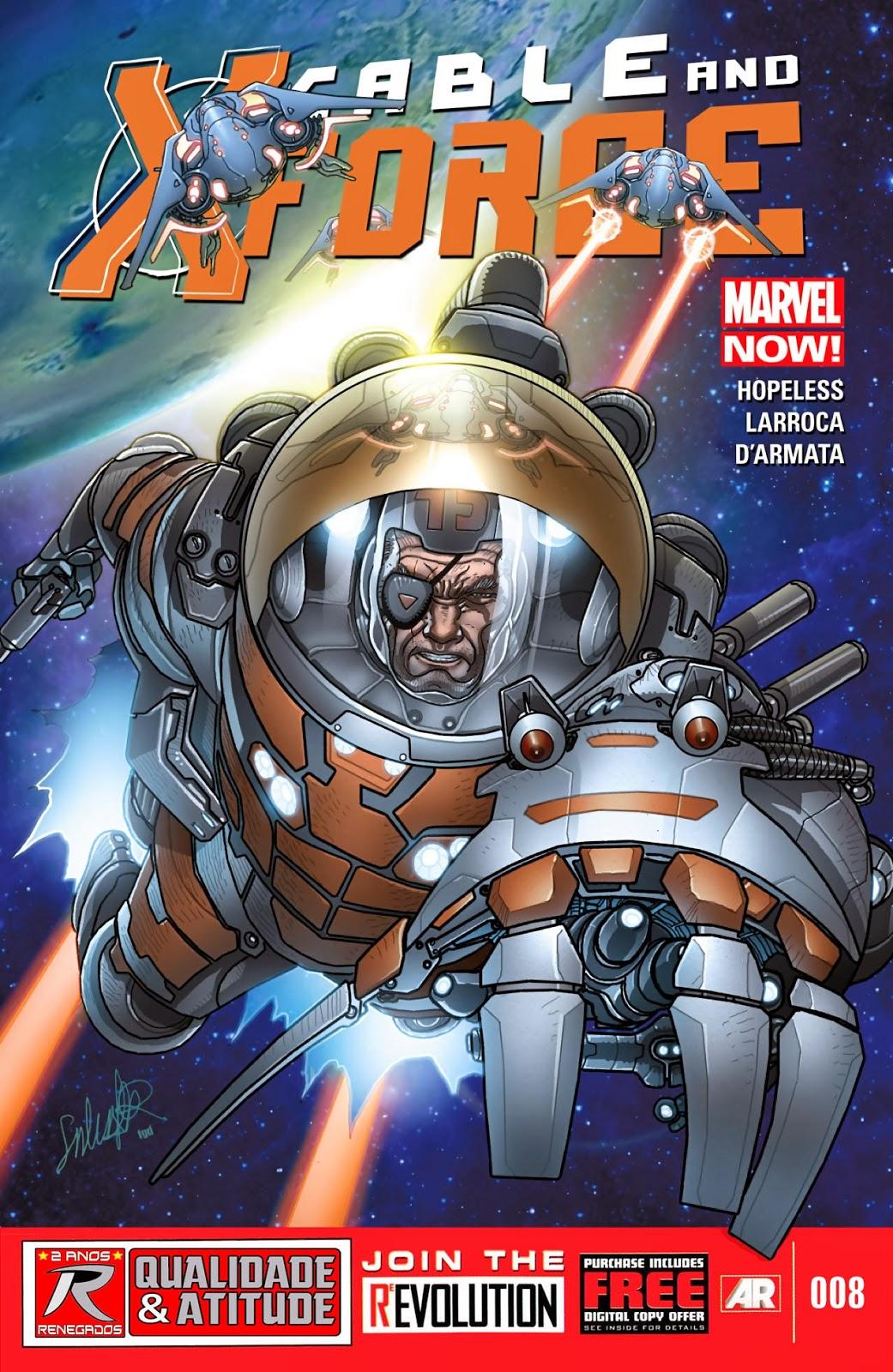 Nova Marvel! Cable e a X-Force #8