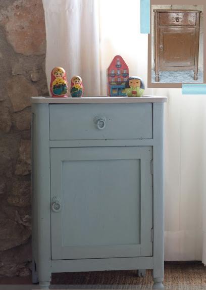 M nica castillo renueva tus muebles con chalk paint - Muebles a la tiza ...