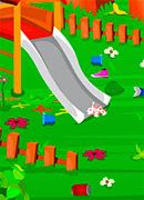 Уборка в детском парке - Онлайн игра для девочек