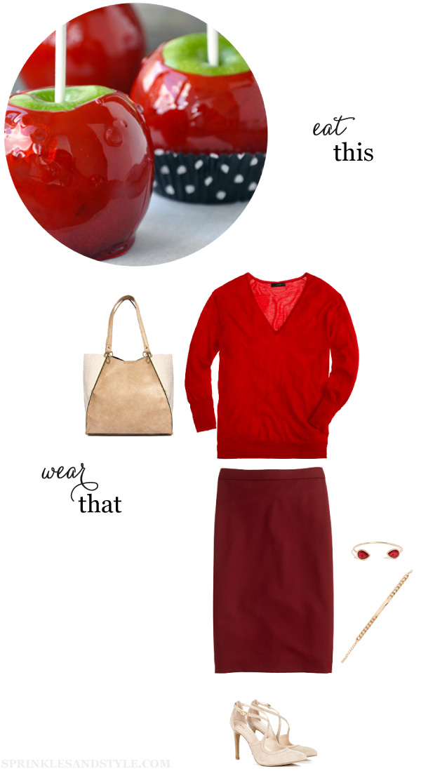 Sprinkles and Style || Eat This, Wear That: Candy Apples