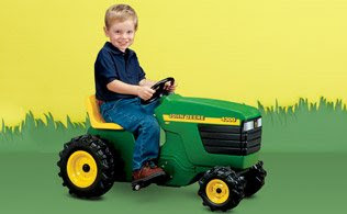 Classic Ride On Toy: John Deere, Steiger and More - If your little one dreams of being a farmer when they grow up, they'll love playing with these classic tractors.