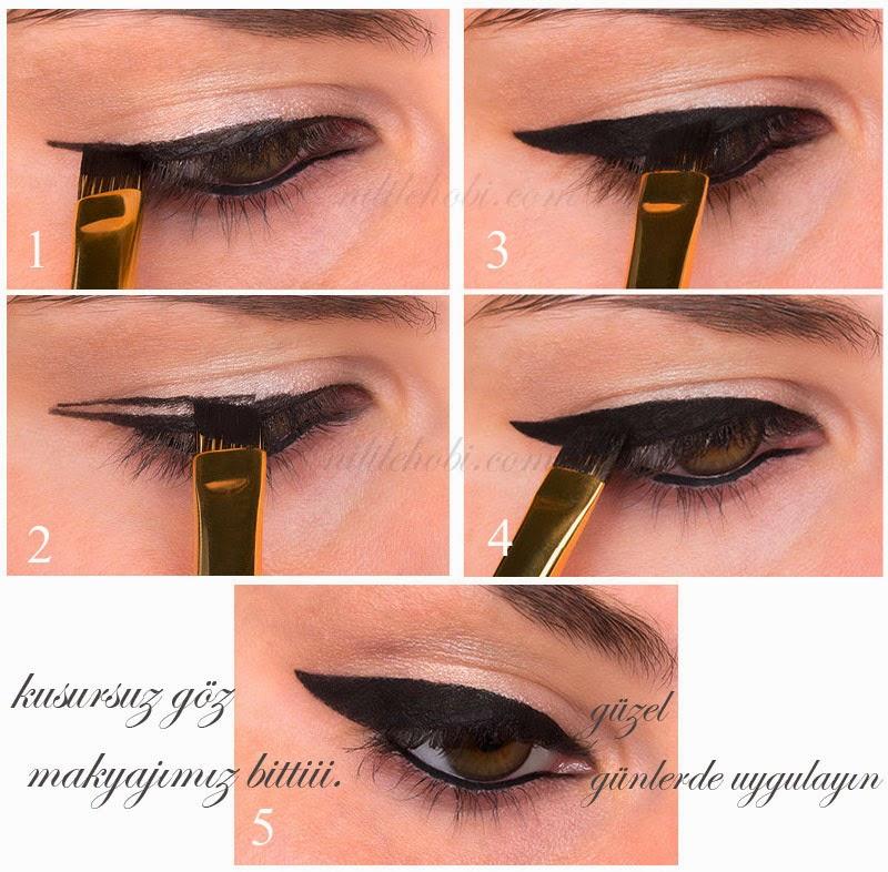 Kuyruklu Eyeliner Nasıl Çekilir ?