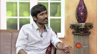 Virundhinar Pakkam – Actor Dhanush Sun TV Show 26-07-2013