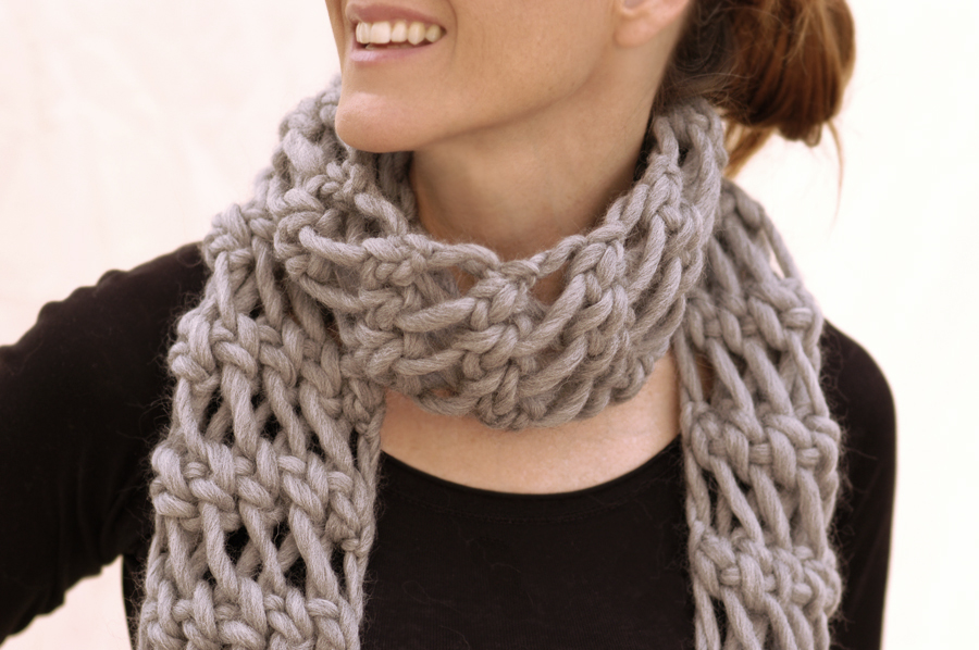 Knit Scarf Pattern With Bulky Yarn : Knit 1 LA: save the date: Knit 1 LA trunk show