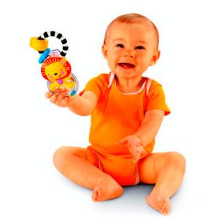 Gambar Ekspresi Bayi Lucu Lagi Belajar Duduk
