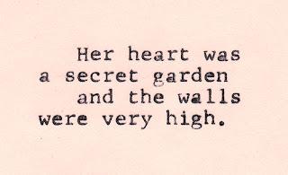 heart was a secret garden quote