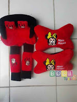 Bantal Mobil 3 in 1 Minnie Mouse