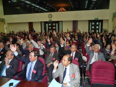 Đại biểu tham dự Đại hội Hội hữu nghị Việt nam - Hungary