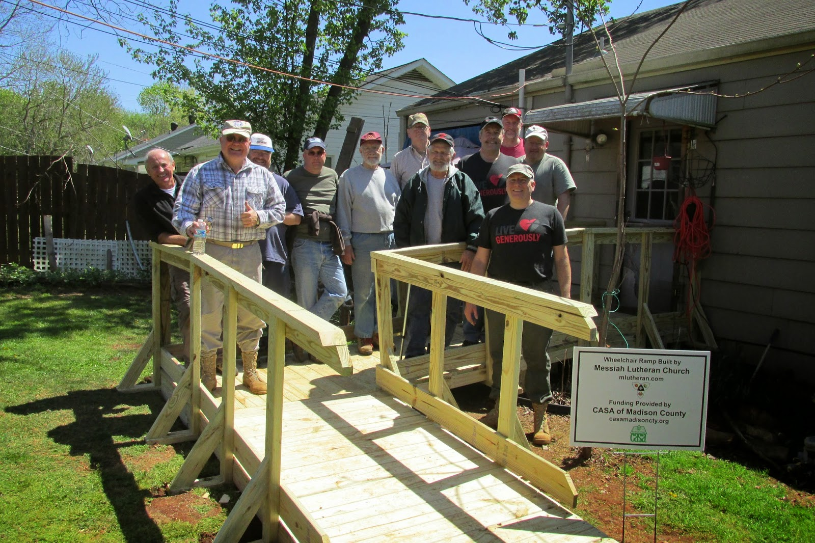 Wheelchair Ramp, 4 Apr 2015