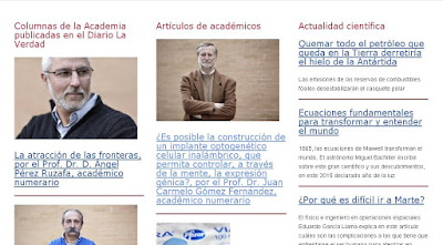 """""""Blog de la Academia de Ciencias de la Región de Murcia"""""""