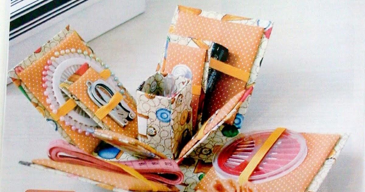 L 39 arts artesanatos l 39 arts artesanatos na revista for Boite a couture casa