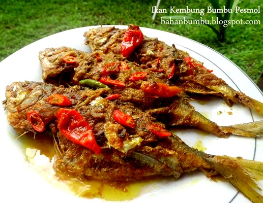 Resep Masakan Ikan Kembung Bumbu Pesmol Cabe Rawit