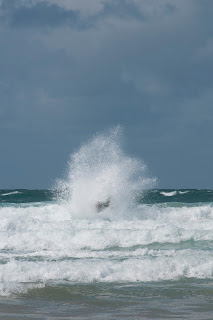 Zapcats smash through waves in Cornwall