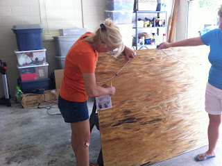 creating headboard out of plywood