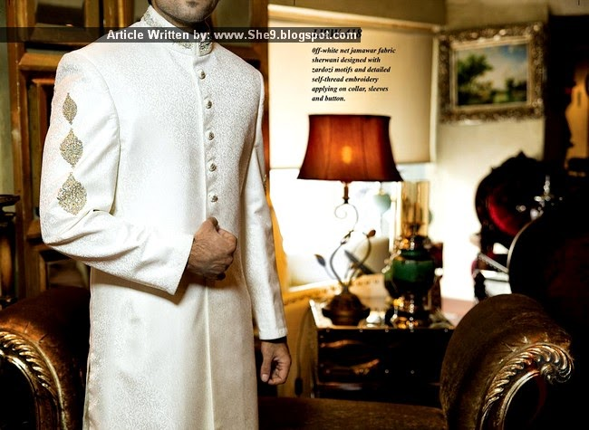 Junaid Jamshed Sherwani Couture