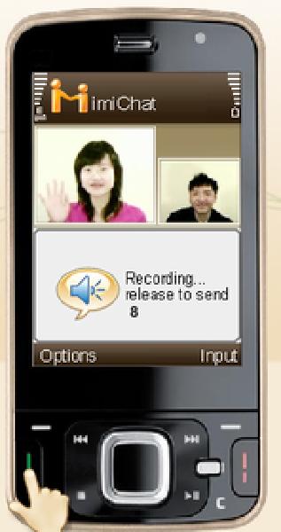 Aplikasi Video Chat di Ponsel dengan IMIChat (GPRS) Gratis