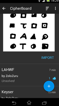 APP 4 android Z 340 CIPHER