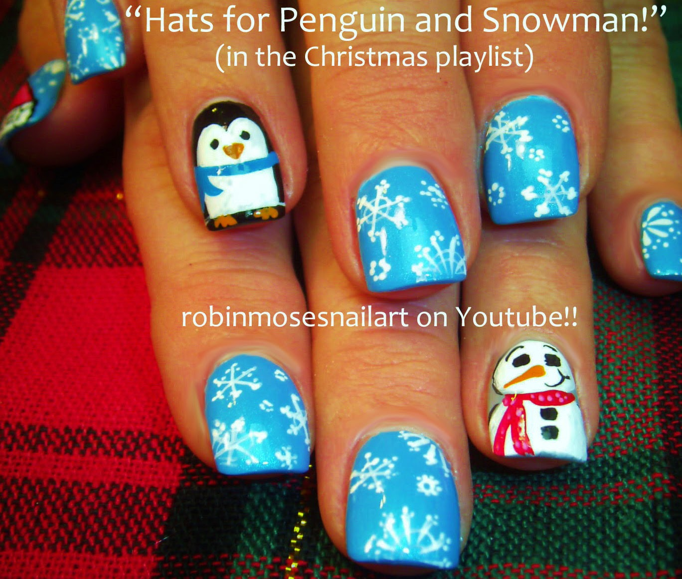 Nail Art Tutorials | Christmas