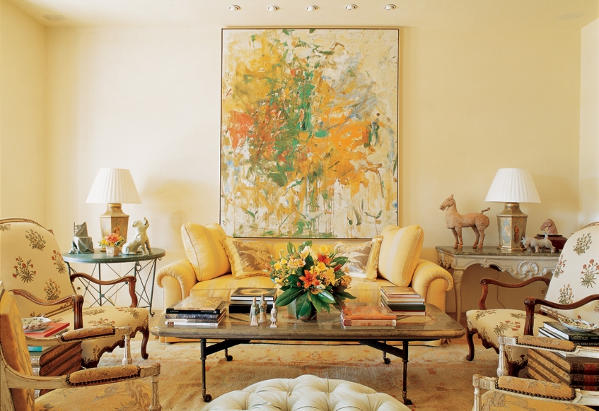 Design Abstract Art In Traditional Interiors Part 2 The Masters Of