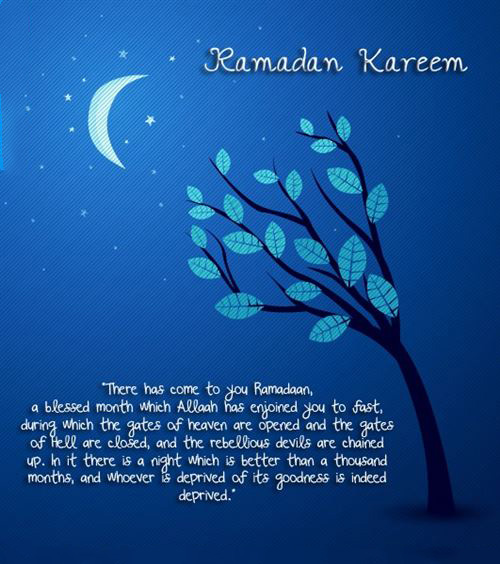 Best There Has Come To You Ramadan Kareem Greeting Card
