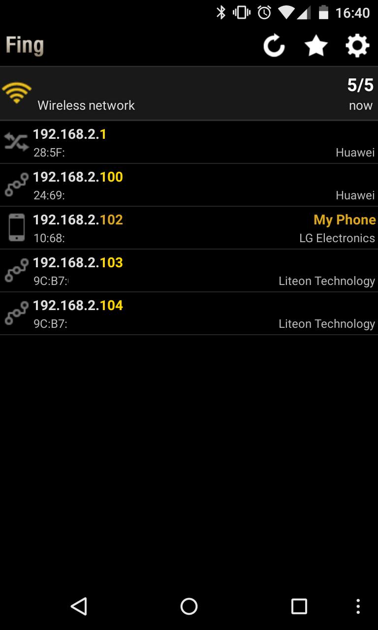 Con esta aplicación para Android podremos ver los diferentes dispositivos conectados a nuestra Wifi.