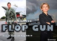 Hollywood ruft: Guttenberg und Von der Leyen in Flop Gun