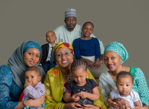 Buhari family photos